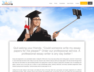 writemyessaypapers.com screenshot