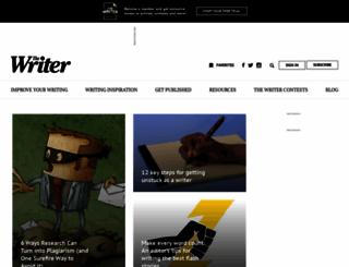 writermag.com screenshot