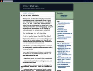 writerschatroom.blogspot.nl screenshot