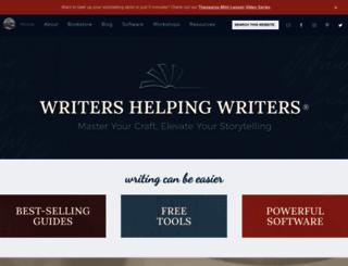 writershelpingwriters.net screenshot