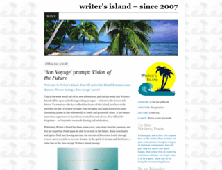 writersisland.wordpress.com screenshot