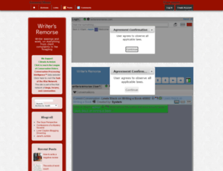 writersremorse.com screenshot