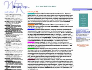 writersreps.com screenshot