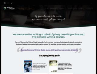 writerstudio.com.au screenshot