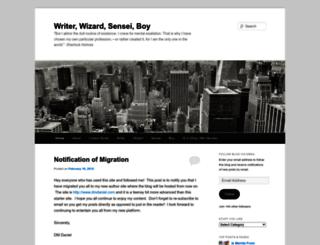 writerwizardsenseiboy.wordpress.com screenshot