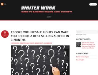 writerwork.com screenshot