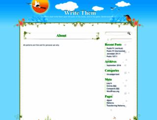 writethem.com screenshot