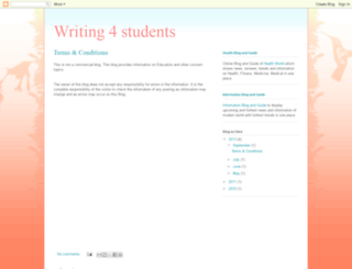 writing4students.blogspot.in screenshot
