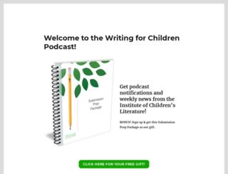 writingforchildren.com screenshot