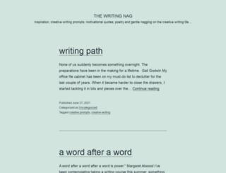 writingnag.blogspot.com screenshot