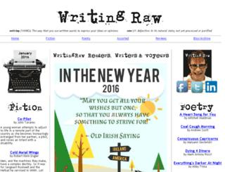 writingraw.com screenshot