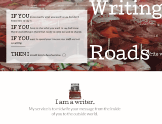 writingroads.com screenshot
