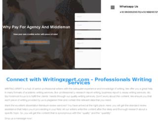 writingxpert.com screenshot