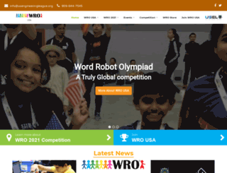 wro-usa.org screenshot