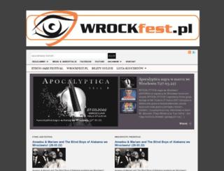 wrockfest.pl screenshot
