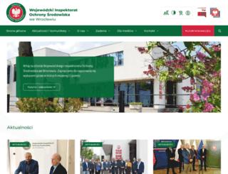 wroclaw.pios.gov.pl screenshot