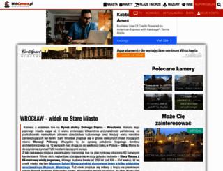 wroclaw.webcamera.pl screenshot
