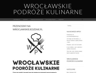 wroclawskiejedzenie.wordpress.com screenshot