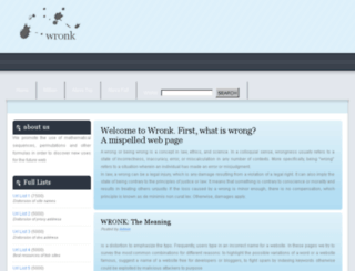 wronk.altervista.org screenshot