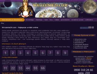 wrozenie24.com screenshot