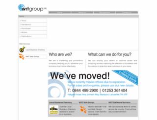 wrtgroup.co.uk screenshot