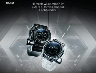 wrtlsp.casio-europe.com screenshot