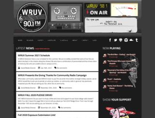 wruv.org screenshot