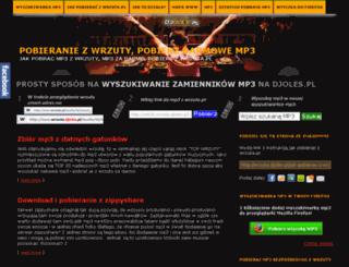 wrzuta.djoles.pl screenshot
