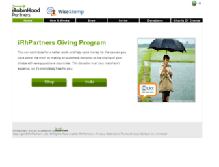 ws.donation-tools.org screenshot