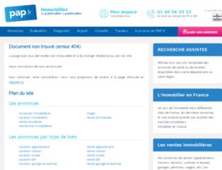 ws.pap.fr screenshot