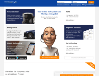 ws.reifenboerse.de screenshot