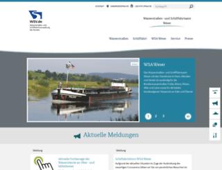 wsa-verden.wsv.de screenshot