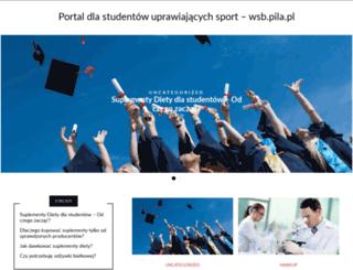 wsb.pila.pl screenshot