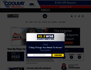 wsbradio.com screenshot