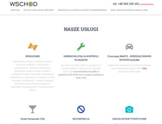 wschod.pl screenshot