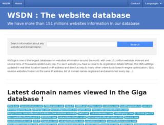 wsdn.info screenshot