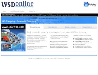 wsdonline.com screenshot