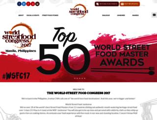 wsfcongress.com screenshot