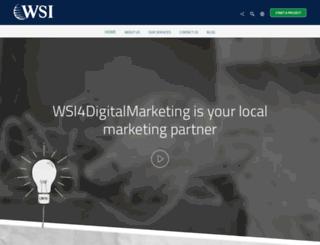 wsi4digitalmarketing.com screenshot