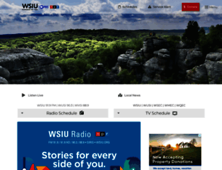 wsiu.org screenshot
