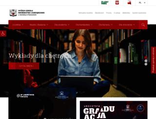 wsiz.rzeszow.pl screenshot