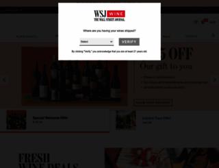 wsjwine.com screenshot