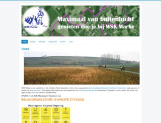 wsk-marke.be screenshot