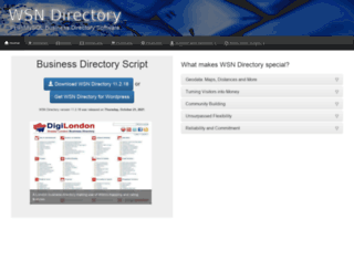 wsndirectory.com screenshot
