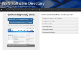 wsnsoftwaredirectory.com screenshot