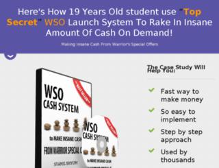 wsocashsystem.com screenshot