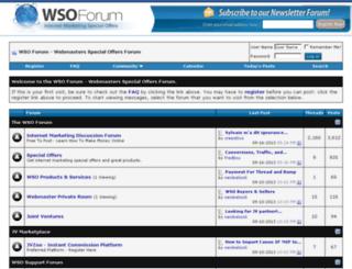 wsoforum.com screenshot