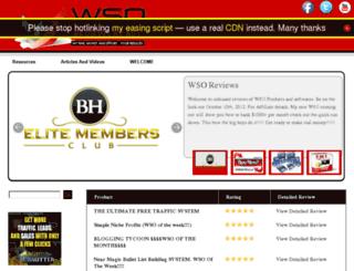 wsoreviews.billhugall.com screenshot