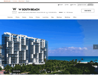 wsouthbeach.com screenshot