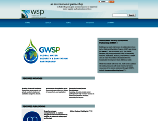 wsp.org screenshot